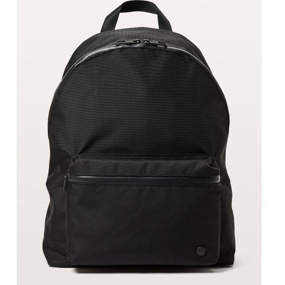 3e91b18312 Lululemon Athletica Handbags Black Backpack